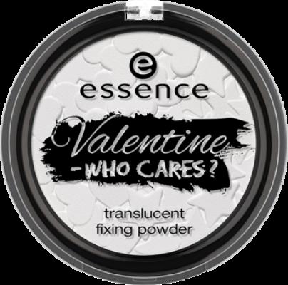 Компактная пудра прозрачная Valentine - who cares Essence 01 guys allowed, NOT!: фото
