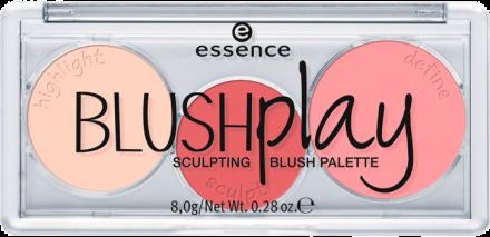 Палетка румян BLUSHplay Sculpting Essence 10 play it peach: фото