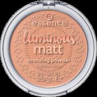 Пудра компактная Luminous Matt Bronzing Powder Essence 01 sunshine: фото