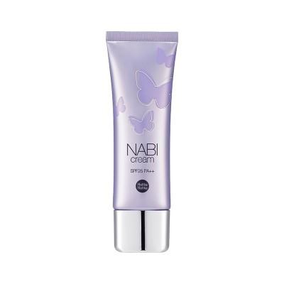 База под макияж Holika Holika Nabi Cream SPF25 PA++ Blooming Lavender успокаивающая: фото