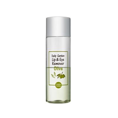 Средство для снятия водостойкого макияжа Holika Holika Daily Garden Olive Lip&Eye Remover: фото