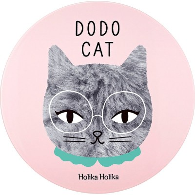 КушонHolika Holika Face 2 Change Dodo Cat Glow Cushion BB Dodo's Rest тон 21, светлый беж: фото