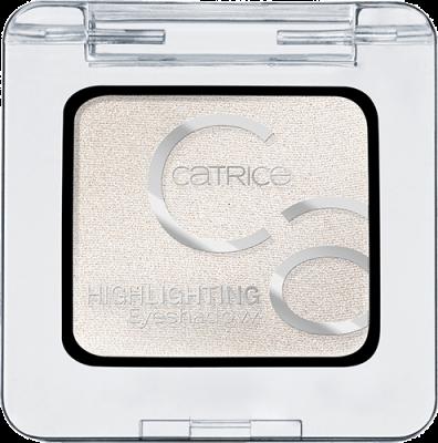 Тени для век Highlighting Eyeshadows Сatrice 010 белый: фото