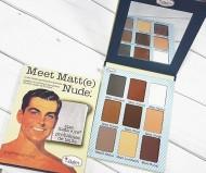 Матовые тени theBalm Meet Matt(e) Nude: фото