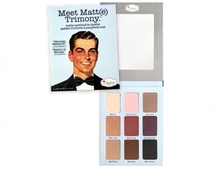 Матовые тени theBalm Meet Matte Trimony: фото