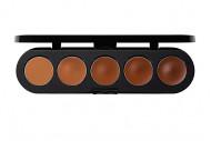 Палетка восковых корректоров, 5 цветов Make-Up Atelier Paris C/COR бронзовый 10г: фото