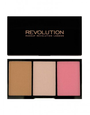 Палетка для макияжа Makeup Revolution Iconic Blush, Bronze & Brighten Smoulder: фото