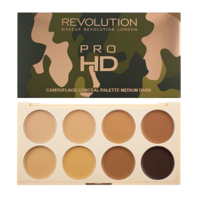Палетка консилеров Makeup Revolution Ultra Pro HD Camouflage Medium Dark: фото