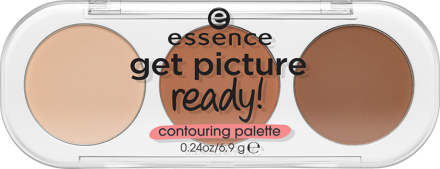 Палетка для контурирования лица Essence Get picture ready! Contouring palette 10 get in shape: фото