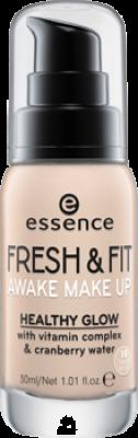 Тональная основа Essence Fresh & fit awake make-up 10 слоновая кость: фото