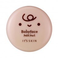 Пудра компактная It's Skin Babyface Petit Pact тон 02 песочный 5г: фото