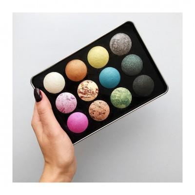 Палетка теней Affect Love Colours Mineral Baked Eyeshadows Palette: фото