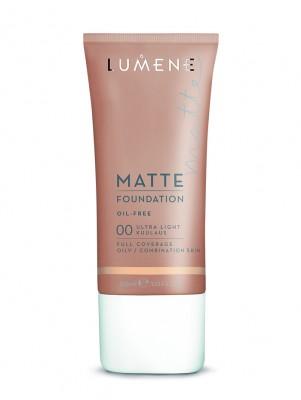Матирующий тональный крем Lumene Matte / 00 Ultra Light, 30 мл: фото