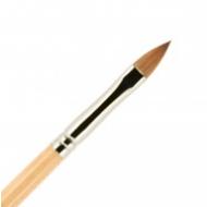Кисть для ногтей ВАЛЕРИ-Д (лак) из волоса колонка №6 лепесток: фото