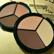 Палетка для скульптурирования лица NYX Professional Makeup 3 STEPS TO SCULPT FACE SCULPTING PALETTE - LIGHT 02: фото