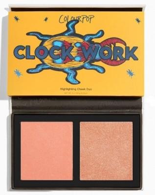 Палетка румян ColourPop Pressed Powder Face Duo CLOCK WORK: фото