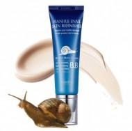 ВВ-крем с муцином улитки Hanhui snail skin refinisher esential BB-cream SPF50 50мл: фото