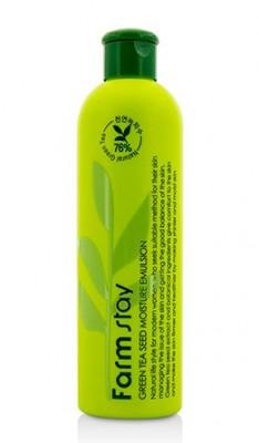 Эмульсия увлажняющая с семенами зеленого чая FARMSTAY Green tea seed moisture emulsion 300 мл: фото