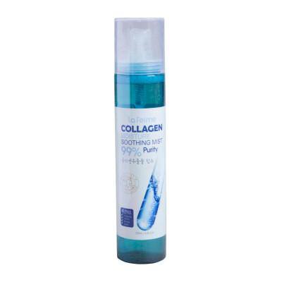 Спрей успокаивающий c коллагеном FARMSTAY La fereme moisture soothing collagen mist 120мл: фото
