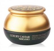 Крем с экстрактом икры антивозрастной BERGAMO Luxury caviar wrinkle care cream 50 г: фото