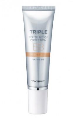 Водостойкий ВВ-крем TONY MOLY Triple water proof perfection BB-cream 50 гр: фото