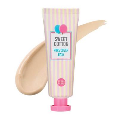 База под макияж матирующая Holika Holika Sweet Cotton Pore Cover Base 25 мл: фото