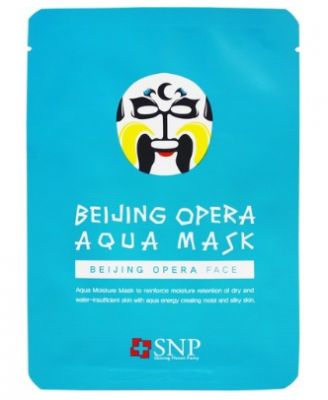 Маска для лица SNP Beijing opera aqua mask 25 мл: фото