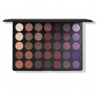 Палетки теней MORPHE 35P - 35 COLOR PLUM EYESHADOW PALETTE: фото