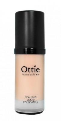 Тональная основа под макияж OTTIE Real Skin Liquid Foundation Ecuador №04 30мл: фото