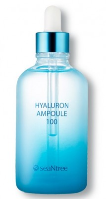 Ампульная сыворотка со 100% гиалуроновой кислотой SEANTREE Hyaluronic ampoule 100 100мл: фото