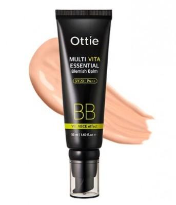 BB-крем с УФ-защитой OTTIE Multi Vita Essential BB SPF20 50мл: фото