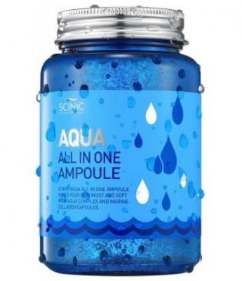 Сыворотка на основе глубинной морской воды SCINIC Aqua all in one ampoule 250мл: фото