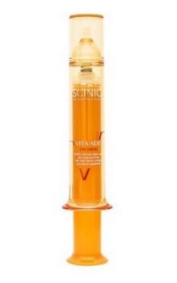 Питательный крем для век с комплексом витаминов SCINIC Vita ade eye cream 17мл: фото