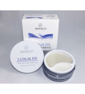 Гидрогелевые патчи с кремовой сывороткой Misoli MOELLET 5,5 Dual eye: фото