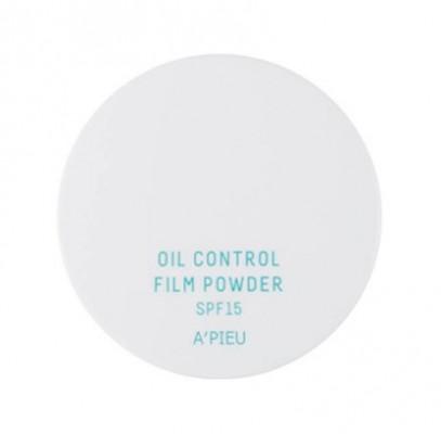 Пудра рассыпчатая матирующая A'PIEU Oil Control Film Powder SPF15 White: фото