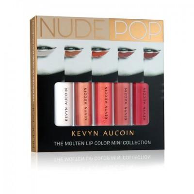Набор помад Kevyn Aucoin NUDEPOP The Molten Lip Color Mini Collection: фото