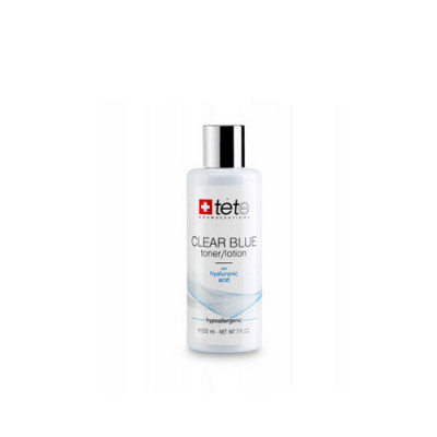 Tоник-лосьон освежающий TETе COSMECEUTICAL Clear Blue Toner/Lotion with Hyaluronic Acid 200 мл: фото