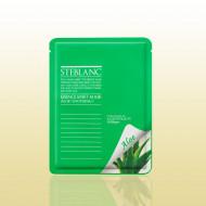 Маска успокаивающая с алоэ STEBLANC Essence sheet mask-aloe: фото
