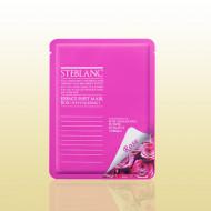 Маска омолаживающая с экстрактом цветов дамасской розы STEBLANC Essence sheet mask-rose: фото