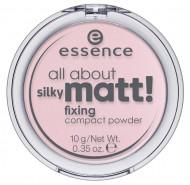 Пудра фиксирующая ESSENCE All About Silky Matt Fixing 10 розовый: фото