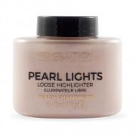 Хайлайтер рассыпчатый MAKEUP REVOLUTION Pearl lights loose highlighter, Peach Champagne: фото