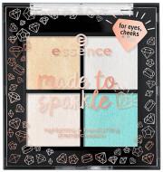 Палетка хайлайтеров 4в1 Essence Made to Sparkle Highlighting & Transforming Prismatic Palette: фото
