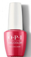 Гель для ногтей OPI ICONIC Cha-Ching Cherry GCV12 15 мл: фото
