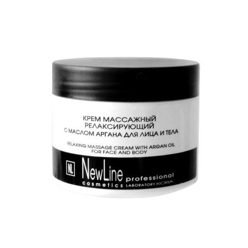 Крем массажный релаксирующий с маслом арганы NEW LINE 300мл: фото