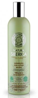 Шампунь для сухих волос Объем и улажнение Natura Siberica 400мл: фото
