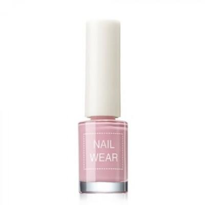 Лак для ногтей The Saem Nail Wear 01.Pastel pink 7мл: фото