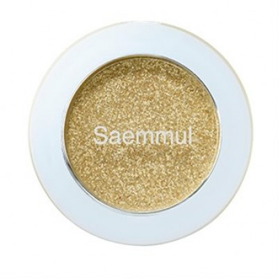 Тени для век кремовые THE SAEM Saemmul single shadow paste YE01 Honey Gelato 1,8гр: фото