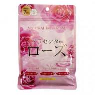Маска для лица с экстрактом розы Japan Gals Pure5 Essential 30 шт: фото