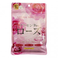 Маска для лица с экстрактом розы Japan Gals Pure5 Essential 30 шт