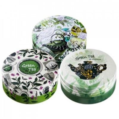 Крем для лица ультраувлажняющий seaNtree GREEN TEA DEEP DEEP DEEP CREAM EX 3 IN 1 SET-1 35гр*3: фото